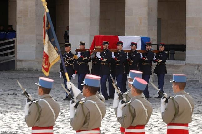 Ông Putin, ông Clinton đến Pháp viếng cố Tổng thống Jacques Chirac ảnh 3