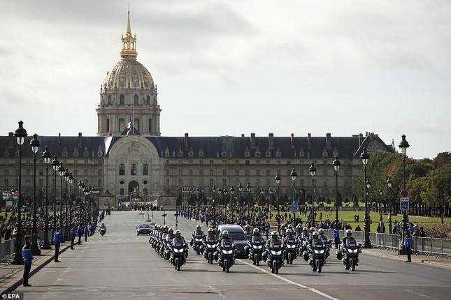 Ông Putin, ông Clinton đến Pháp viếng cố Tổng thống Jacques Chirac ảnh 6