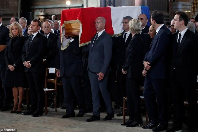 Ông Putin, ông Clinton đến Pháp viếng cố Tổng thống Jacques Chirac ảnh 8