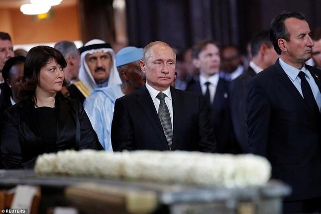 Ông Putin, ông Clinton đến Pháp viếng cố Tổng thống Jacques Chirac ảnh 10