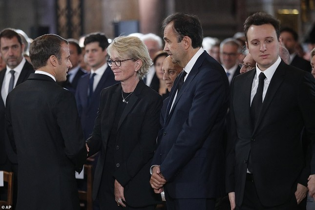 Ông Putin, ông Clinton đến Pháp viếng cố Tổng thống Jacques Chirac ảnh 13