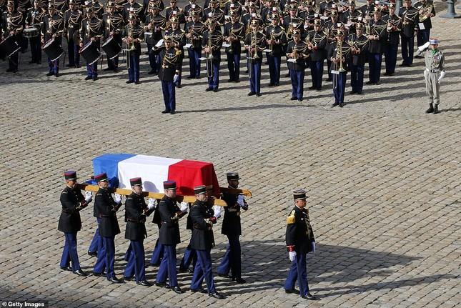 Ông Putin, ông Clinton đến Pháp viếng cố Tổng thống Jacques Chirac ảnh 2
