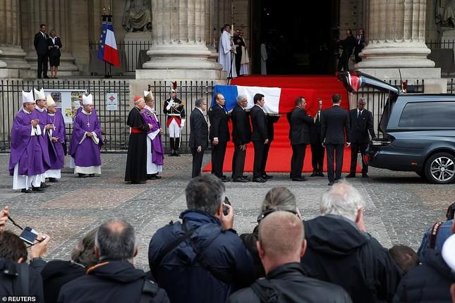 Ông Putin, ông Clinton đến Pháp viếng cố Tổng thống Jacques Chirac ảnh 5