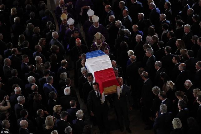 Ông Putin, ông Clinton đến Pháp viếng cố Tổng thống Jacques Chirac ảnh 7