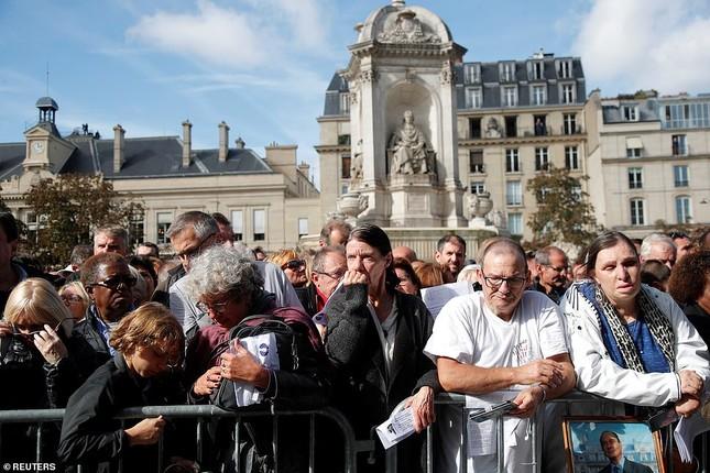 Ông Putin, ông Clinton đến Pháp viếng cố Tổng thống Jacques Chirac ảnh 17