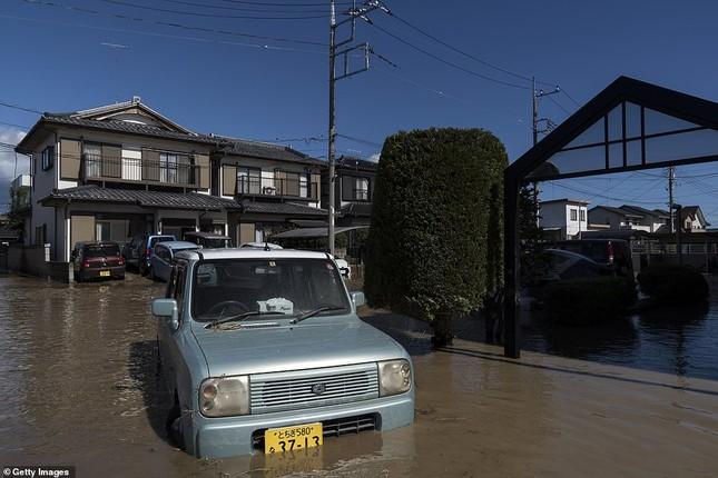 Cảnh tan hoang vì siêu bão Hagibis ở Nhật Bản nhìn từ trên cao ảnh 14