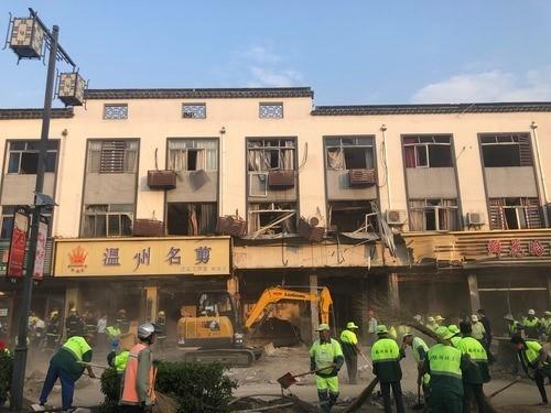 Quán ăn vặt tan tành vì nổ khí gas, 19 người thương vong ảnh 1