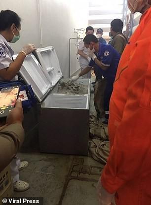 Nữ triệu phú Thái Lan chết thảm, thi thể bị giấu trong tủ lạnh đổ đầy bê tông ảnh 2