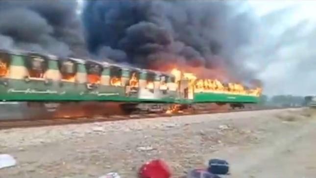 Nổ gas kinh hoàng trên tàu hoả, gần 70 người chết thảm ảnh 1