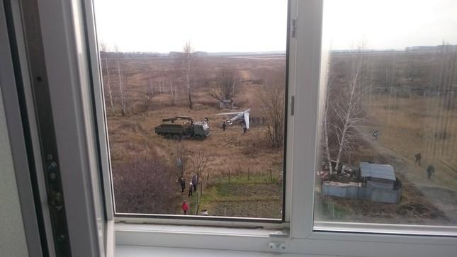 UAV quân sự Nga gặp sự cố, rơi trúng khu dân cư ảnh 1