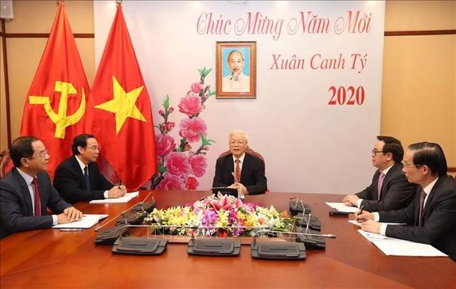 Tổng Bí thư, Chủ tịch nước điện đàm với ông Tập Cận Bình ảnh 1