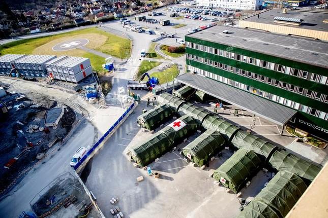 Hội chợ, sân bóng trên toàn cầu 'hóa' bệnh viện dã chiến chống COVID-19 ảnh 9
