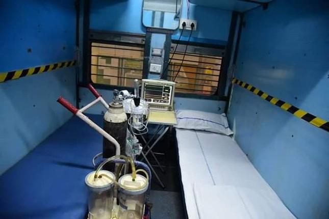 Học Ấn Độ, Pakistan biến tàu hỏa thành bệnh viện dã chiến chữa COVID-19 ảnh 3