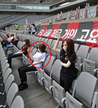 Đội bóng Hàn Quốc lấp chỗ trống khán đài bằng... búp bê tình dục ảnh 4