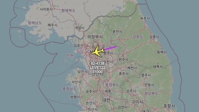 Máy bay do thám Mỹ liên tiếp xuất hiện trên bán đảo Triều Tiên ảnh 1