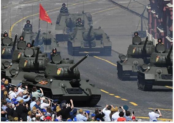Nga duyệt binh hoành tráng mừng Ngày Chiến thắng ảnh 8
