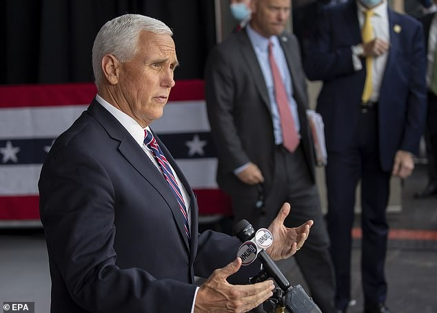 Chuyên cơ Phó Tổng thống Mỹ quay đầu vì đâm phải chim ảnh 4