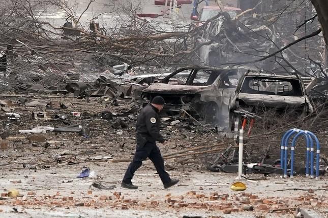 Mỹ: Vụ nổ ngày Giáng sinh là 'tấn công có chủ đích', phát hiện thi thể nghi của người ảnh 8