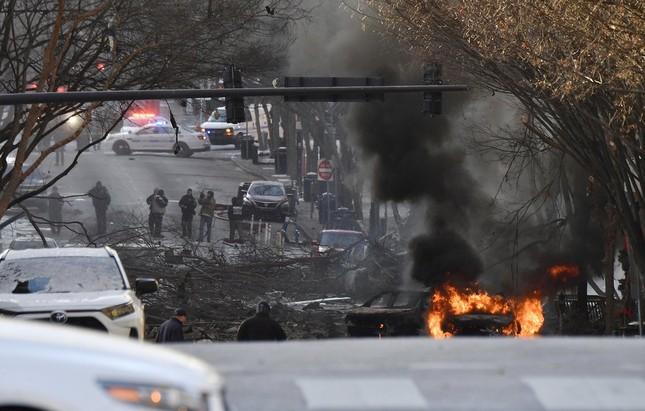 Mỹ: Vụ nổ ngày Giáng sinh là 'tấn công có chủ đích', phát hiện thi thể nghi của người ảnh 4