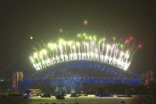 Việt Nam bước sang năm mới 2021 ảnh 14