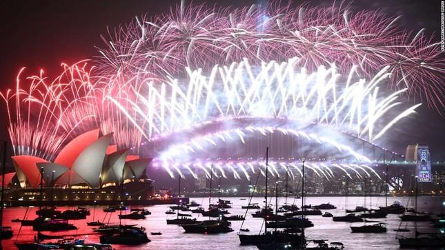 Đón năm mới 2021: Úc chỉ bắn pháo hoa 7 phút, Mỹ đếm ngược trên truyền hình ảnh 5