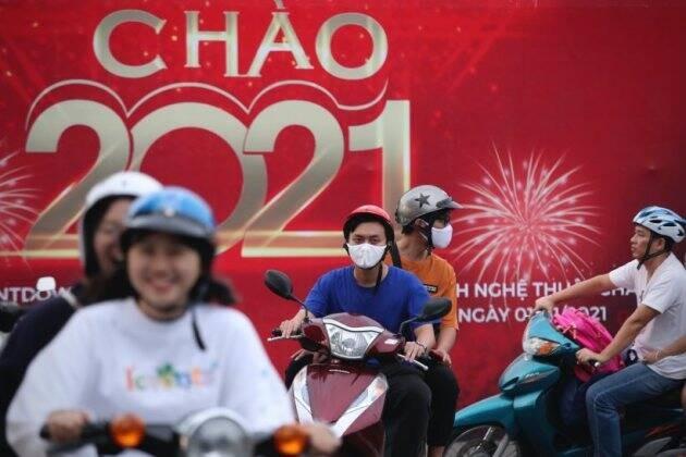 Việt Nam bước sang năm mới 2021 ảnh 25