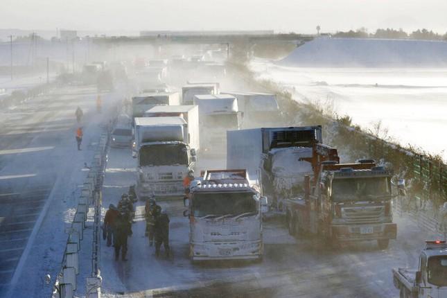 Cả trăm chiếc xe đâm dồn toa trên cao tốc Nhật Bản, 18 người thương vong ảnh 3