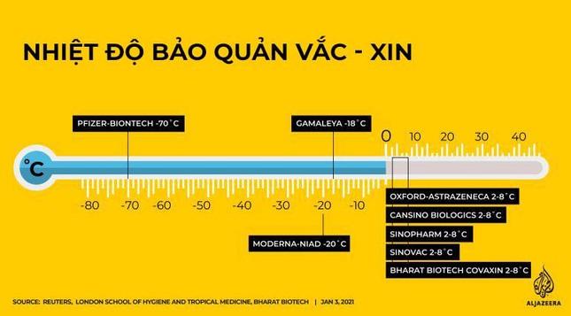 Nhiệt độ - yếu tố 'sống còn' trong quy trình vận chuyển vắc-xin ngừa COVID-19 ảnh 1