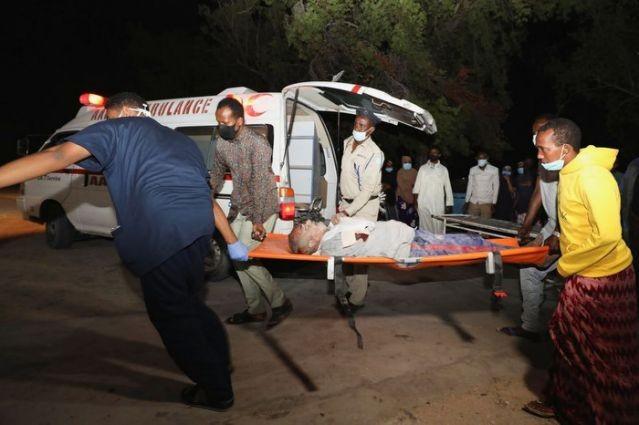 Somalia: Đánh bom liều chết bên ngoài nhà hàng, 50 người thương vong ảnh 1