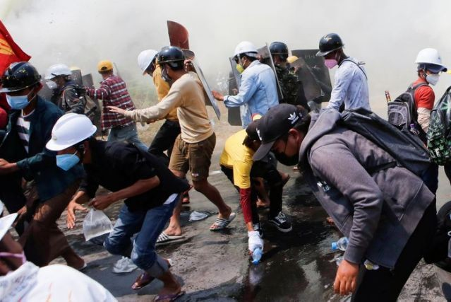 Myanmar: Hai người biểu tình thiệt mạng, quân đội kiểm soát bệnh viện ảnh 1