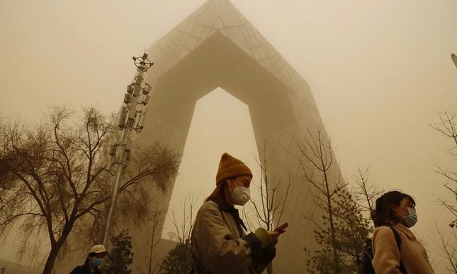 Sáu người chết, 80 người mất tích vì bão cát kinh hoàng ở Mông Cổ ảnh 3