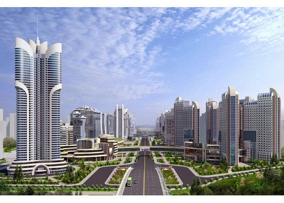 Choáng ngợp với quy hoạch 10.000 căn hộ ở thủ đô của Triều Tiên ảnh 7