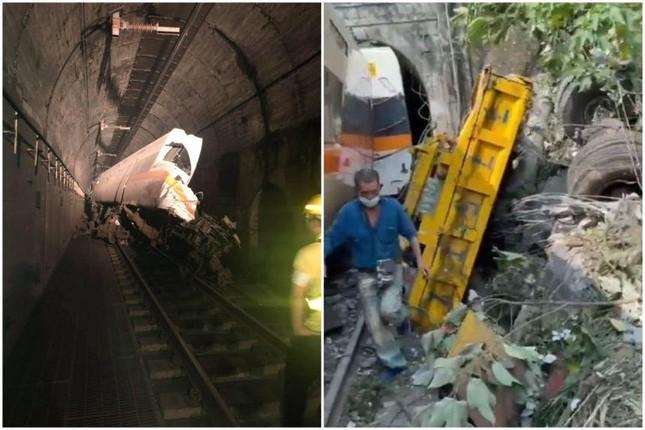 Tàu hỏa trật bánh ở Đài Loan, hơn 100 người thương vong ảnh 2