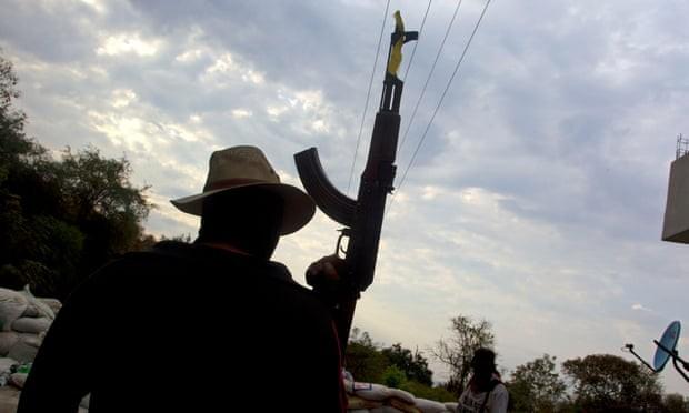 Bị phục kích, 14 cảnh sát Mexico thiệt mạng ảnh 1