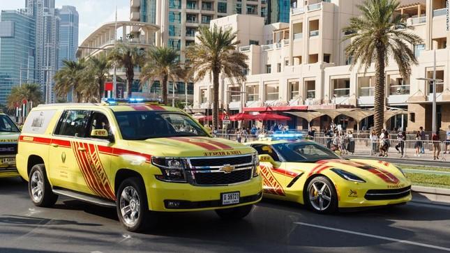 Đội xe cứu thương, xe cảnh sát 'sang chảnh' của Dubai ảnh 15