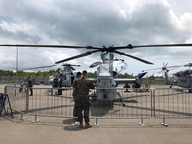 Những máy bay quân sự đình đám ở Singapore Airshow ảnh 16