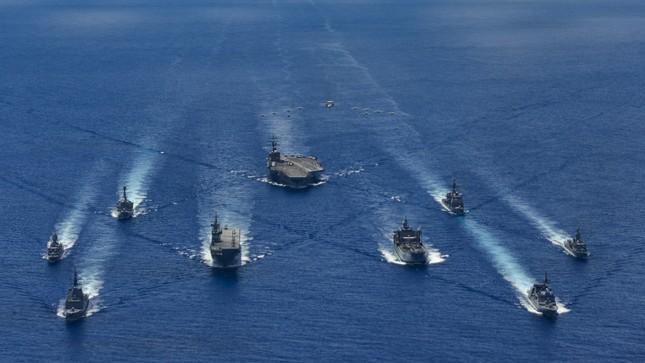 Tàu chiến Úc gia nhập đội tàu Mỹ, Nhật đương đầu Trung Quốc ảnh 1
