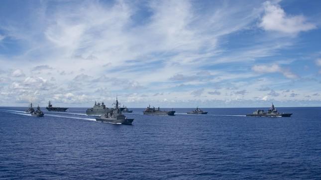 Tàu chiến Úc gia nhập đội tàu Mỹ, Nhật đương đầu Trung Quốc ảnh 2