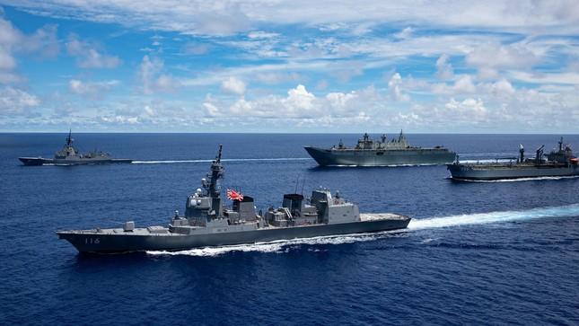 Tàu chiến Úc gia nhập đội tàu Mỹ, Nhật đương đầu Trung Quốc ảnh 3