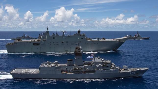Tàu chiến Úc gia nhập đội tàu Mỹ, Nhật đương đầu Trung Quốc ảnh 4