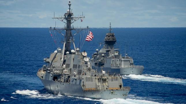Tàu chiến Úc gia nhập đội tàu Mỹ, Nhật đương đầu Trung Quốc ảnh 5
