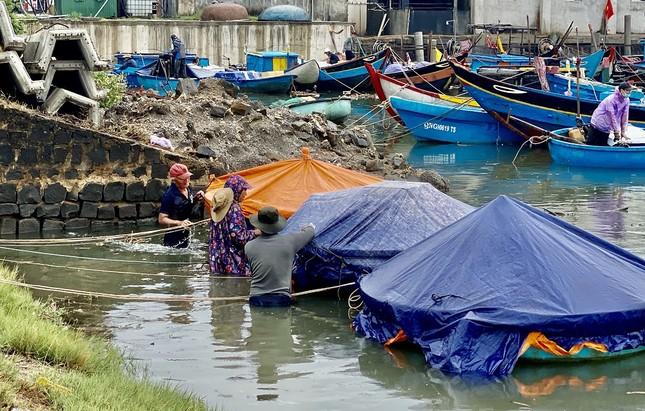 Hàng trăm du khách vội vã rời đảo Lý Sơn để tránh bão số 5 ảnh 5