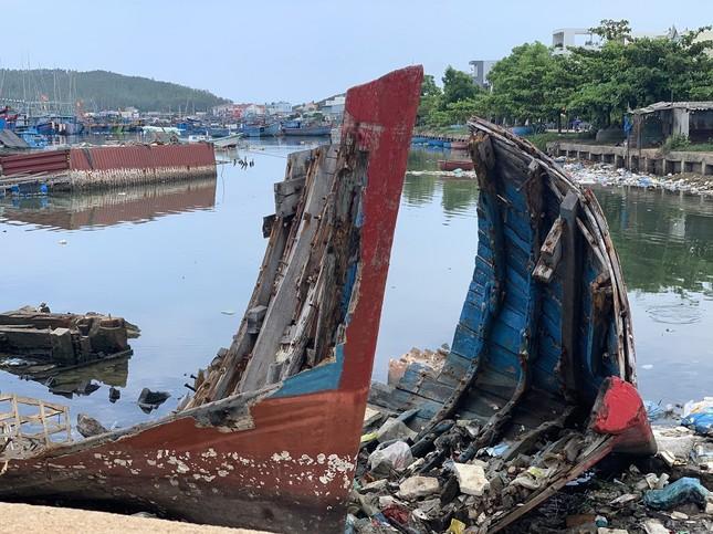 Nhếch nhác 'nghĩa địa' tàu cá tiền tỉ ở cảng Sa Huỳnh ảnh 10