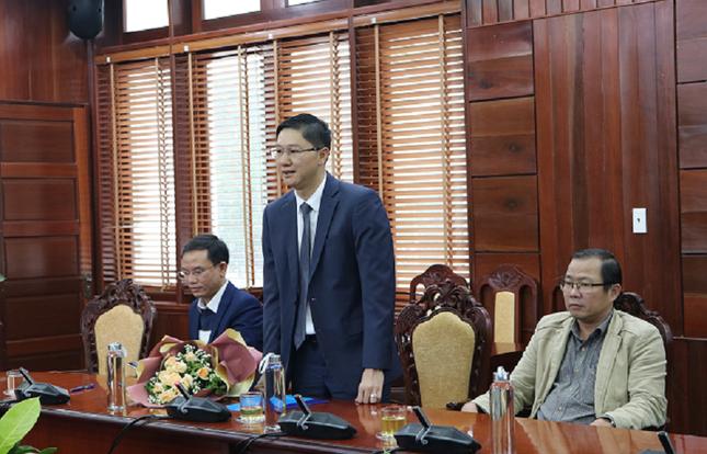Bí thư huyện ủy Lý Sơn được điều động làm Giám đốc Sở Ngoại vụ Quảng Ngãi ảnh 1