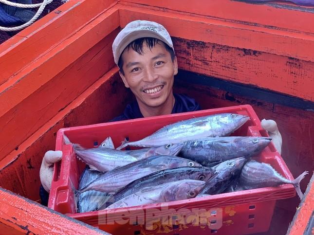 Ngư dân Quảng Ngãi trúng đậm sau chuyến biển xuyên Tết ảnh 15