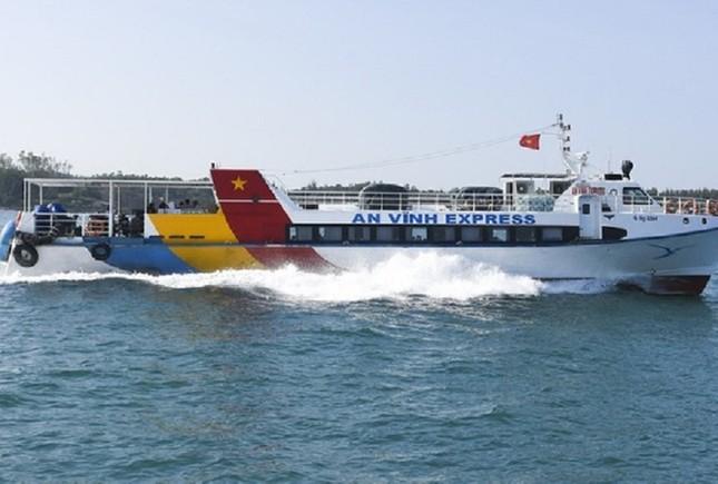 Vì sao Chủ tịch Quảng Ngãi ủng hộ việc mở tuyến đường thủy liên tỉnh Đà Nẵng - Lý Sơn? ảnh 2
