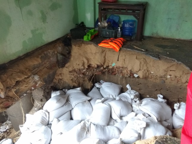 Sau bão số 5: Quảng Ngãi hư hại hơn 400 nhà, sóng đánh sập kè ở Bình Định ảnh 16