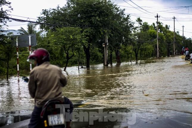 Lũ dâng nhanh, đường phố Quy Nhơn thành sông, hơn 500 hộ dân bị ngập ảnh 3