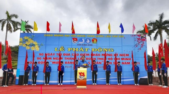 Tuổi trẻ Bình Định làm nhiều phần việc ý nghĩa chào mừng 90 năm ngày thành lập Đoàn ảnh 1