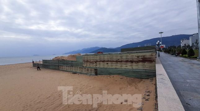 Công trình khu dịch vụ xây trái phép trên biển Quy Nhơn ảnh 4
